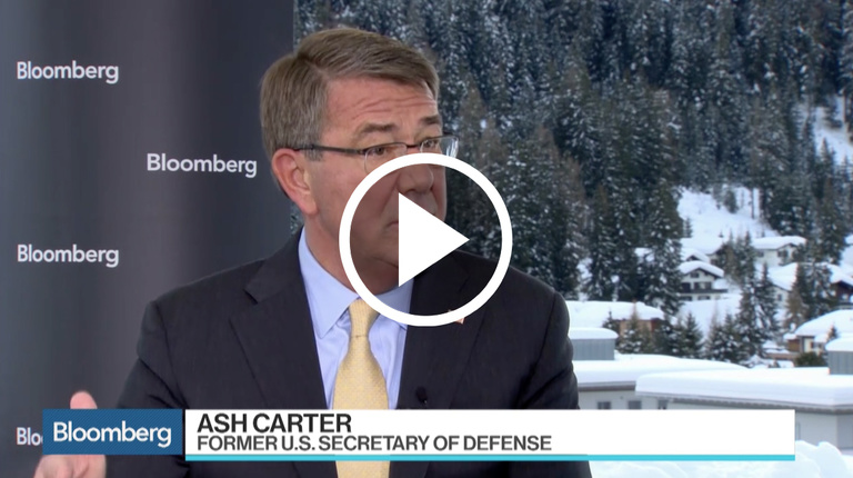 Ash Carter on Bloomberg