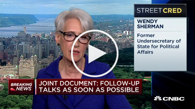 wendy sherman on cnbc
