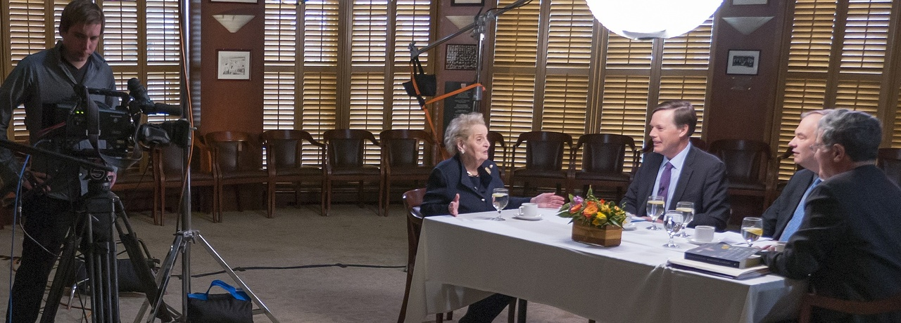 Madeleine Albright interviewed, April 2015