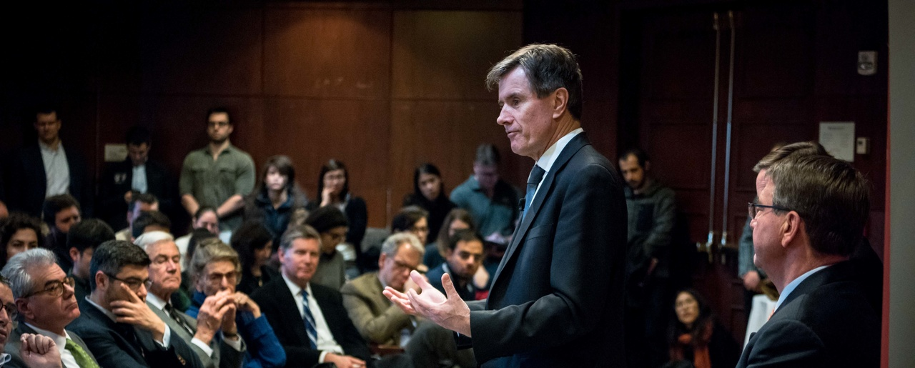 "Sir John Sawers speaking at ""Intelligence and National Security Challenges in the 21st Century """