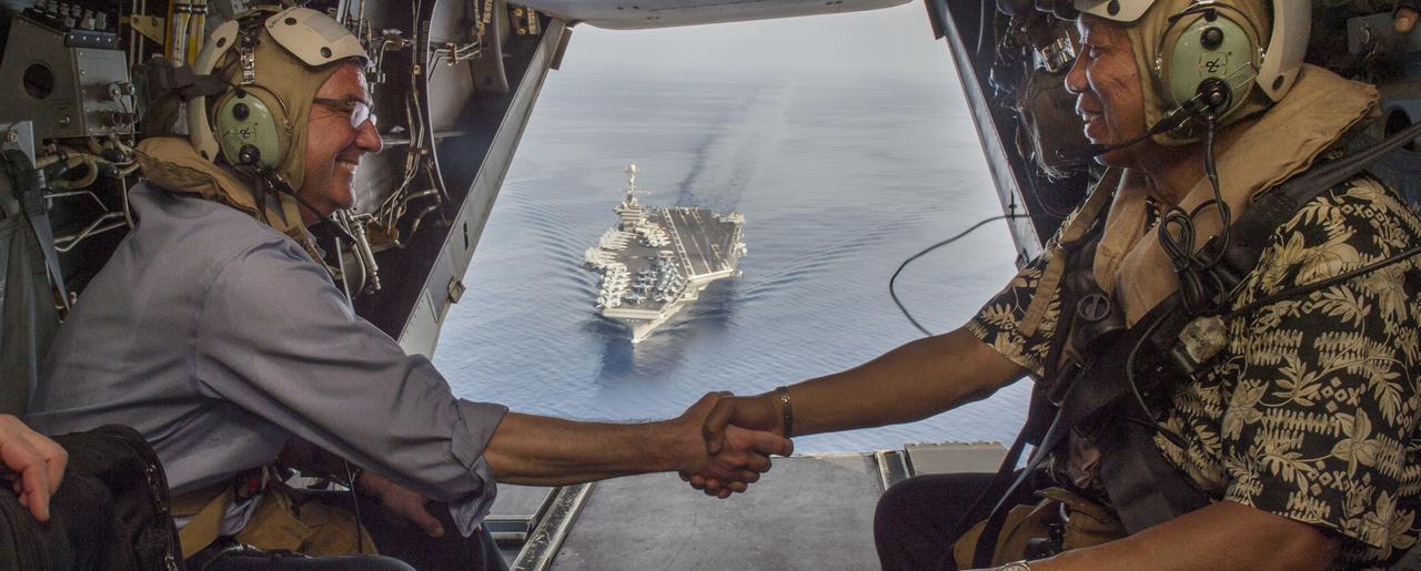 America instilling domination over east asia