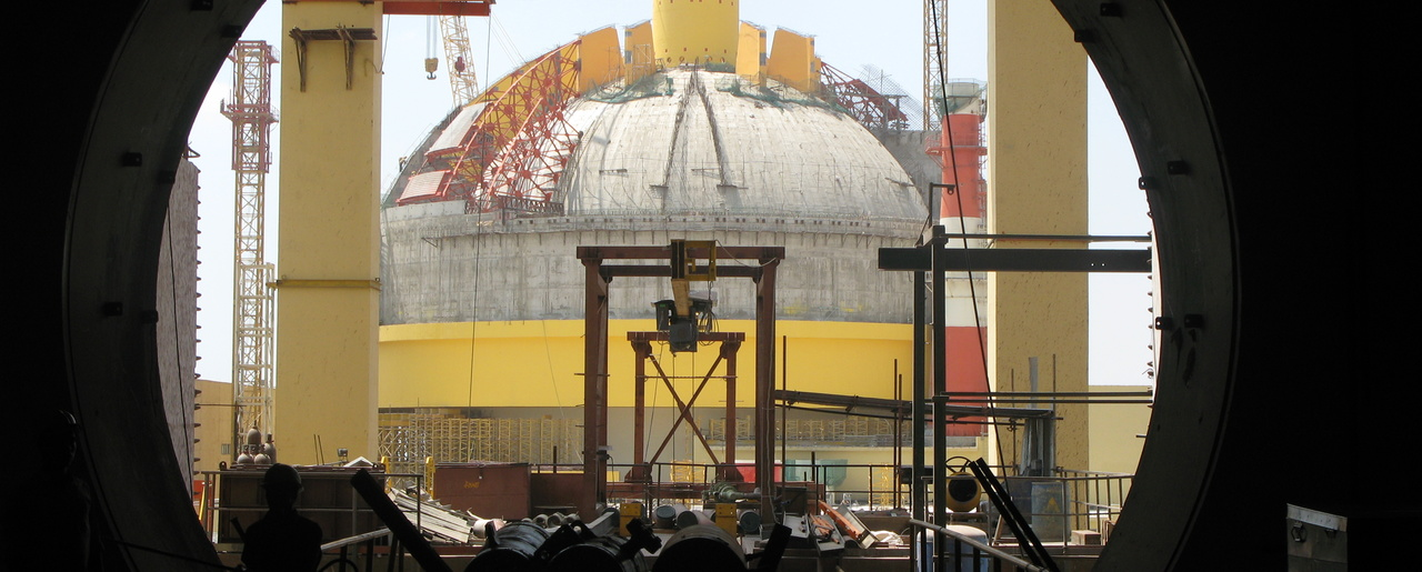 A Prototype Fast Breeder Reactor at the Kalpakkam Nuclear Complex, India.