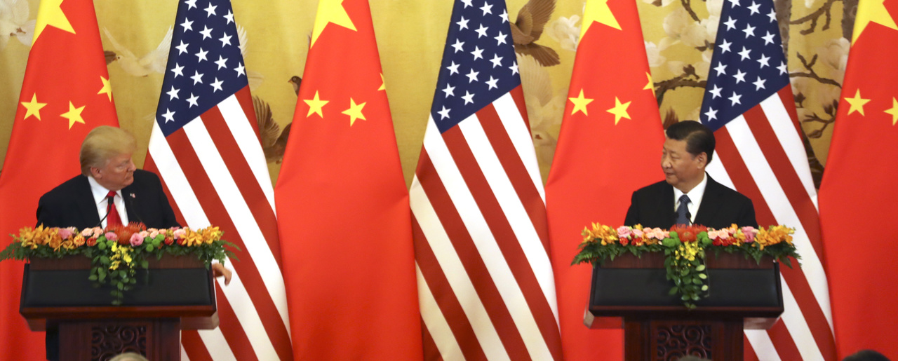 Health Needs Assessment Essay Us President Donald Trump And Chinese President Xi Jinping Right Look  At Each Other Sample Essay English also Thesis Persuasive Essay War Between China And The United States Isnt Inevitable But Its  High School Essay Help