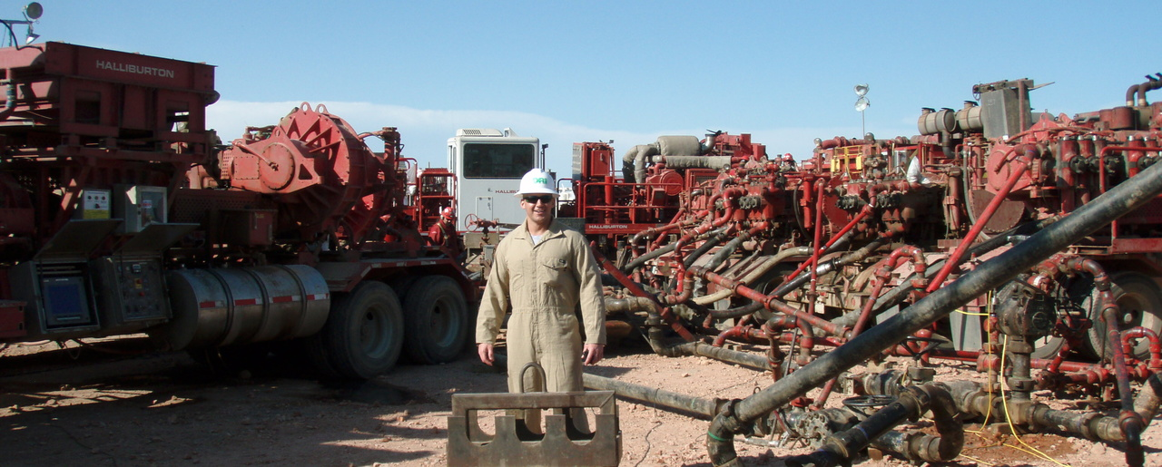 Fracking the Bakken shale oil field, August 11, 2011