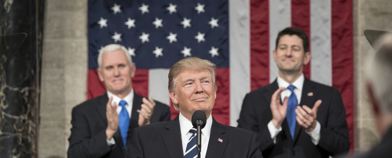 President Trump at the State of the Union