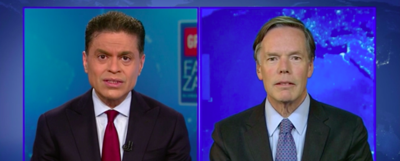 Ambassador Nicholas Burns discusses Western democracy leadership with Fareed Zakaria from CNN