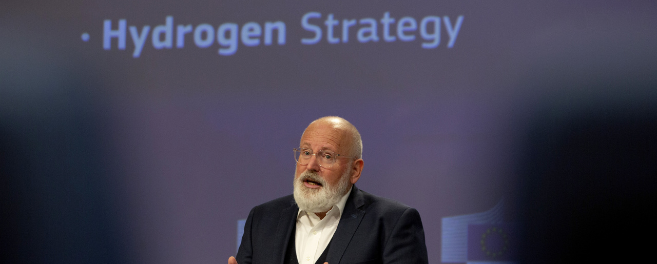 European Commissioner for European Green Deal Frans Timmermans