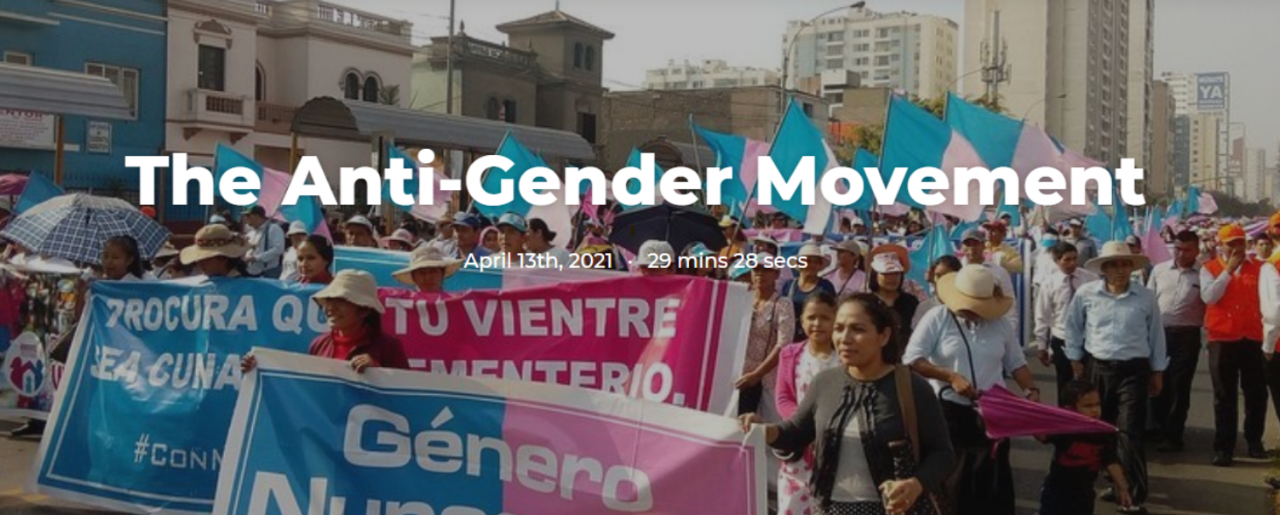 The Anti-Gender Movement Screenshot