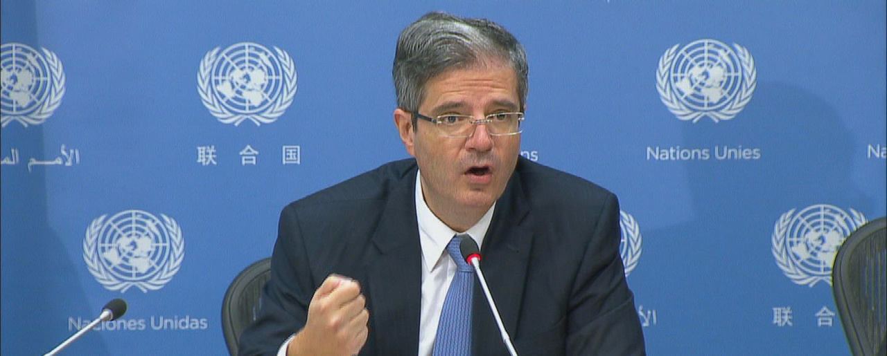 French Ambassador to the United Nations François Delattre.