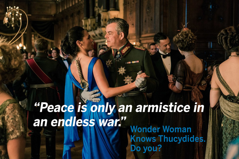 Wonder Woman and the Thucydides Trap