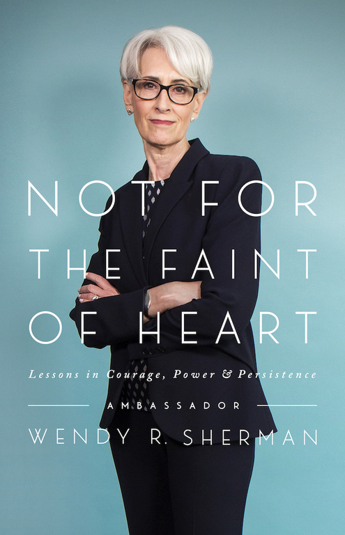 Cover image of Wendy Sherman for The Faint of Heart book