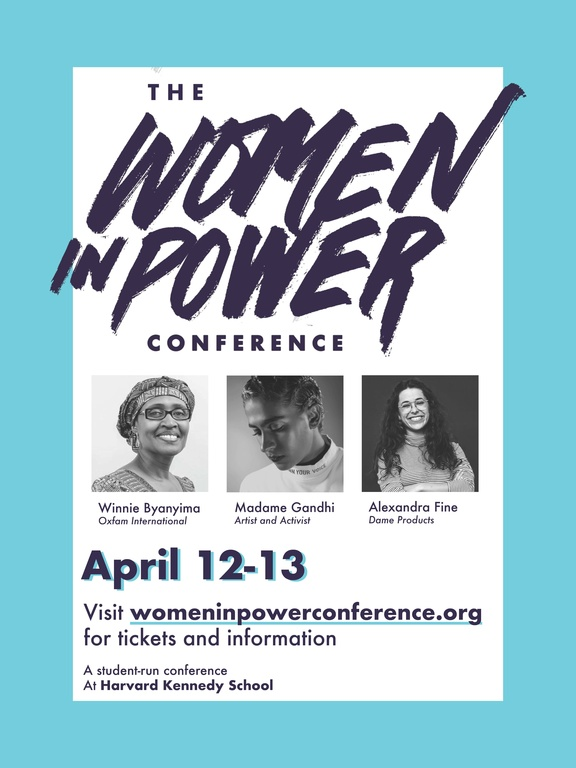 Image of Women in Power Conference Poster