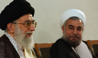 khamenei and rouhani