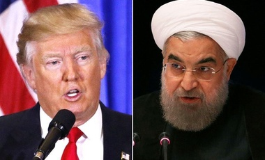 President Trump and Rouhani