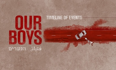 "Poster for HBO series ""Our Boys"""