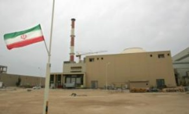 Iran's first nuclear power plant, located in Busher.