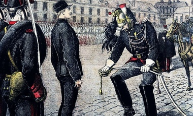 The public military degradation of Captain Alfred Dreyfus