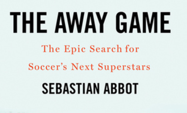 """The Away Game"" book cover."