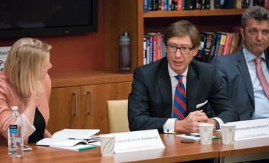 Cathryn Clüver Ashbrook and Peter Wittig discuss Transatlantic Relations.