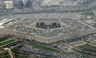 This March 27, 2008 file photo shows the Pentagon in Washington.