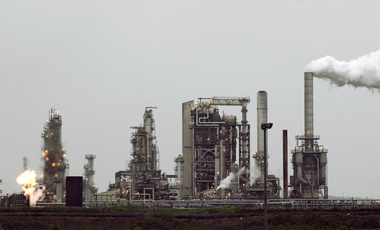 A Tesoro Corp. refinery in Anacortes, Washington.