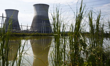 Bellefonte Nuclear Plant at an auction Monday, Nov. 14, 2016. The sale price was more than three times the minimum bid of $36.4 million. (AP Photo/Brynn Anderson, File)