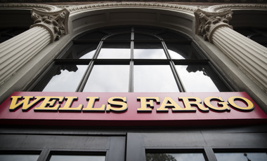 Exterior of a Wells Fargo bank location in Philadelphia on Friday, August 11, 2017. (AP Photo/Matt Rourke)