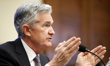 Federal Reserve Chairman Jerome Powell testifies as he gives the semiannual monetary policy report to the House Financial Services Committee in Washington. February 27, 2018 (Jacquelyn Martin/Associated Press). Keywords: dollar, monetary policy, federal reserve, jerome powell