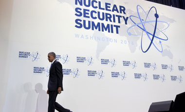 President Obama at the 2016 Nuclear Security Summit in Washington, D.C. (AP Photo/Jacquelyn Martin)