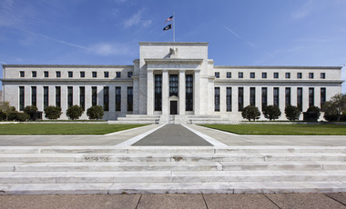 "The U.S. Federal Reserve Bank Building, home to the Board of Governors of the Federal Reserve System, is seen in Washington, Friday, April 25, 2014. Often referred to as ""the Fed,"" it is the nation's central banking system and sets monetary policy for the United States. (AP Photo/J. Scott Applewhite)"