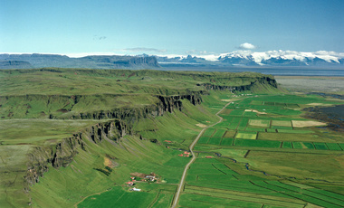 A view of Logadóttir's family farm in Iceland. (Credit: Mats Wibe Lund)