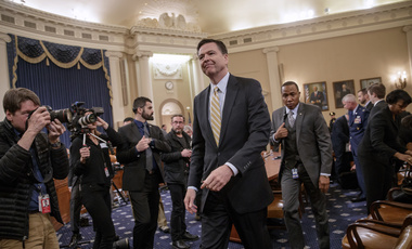 FBI Director James Comey on Capitol Hill