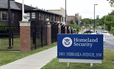 Homeland Security Department headquarters in Washington