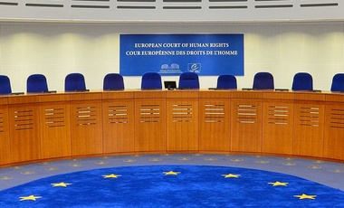 Courtroom of the European Court of Human Rights