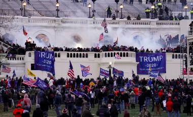 Violent protesters storm the Capitol