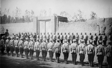 Russian Imperial Troops in Iran. 1911