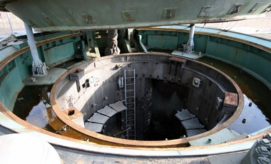 Missile silo of a SS-24 missile