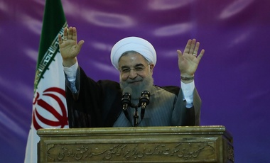 Rouhani reelection rally