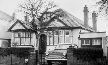 "The ""House of Secrets"" in Ruislip, a London suburb"