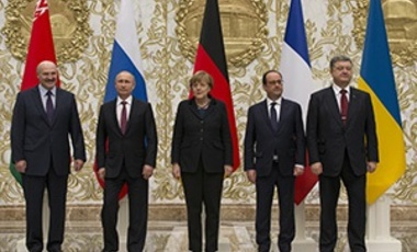Wednesday, Feb. 11, 2015: Leaders of Russia, Ukraine, France and Germany are gathering for crucial talks in the hope of negotiating an end fighting between Russia-backed separatist and government forces in eastern Ukraine.