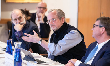 Lawrence Lessig at the Belfer Center Board Lunch
