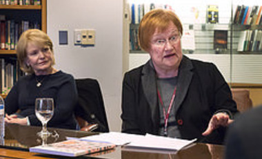 Conversations in Diplomacy: Tarja Halonen