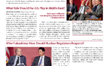Belfer Center Newsletter Summer 2011