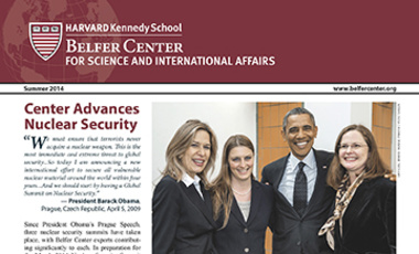 Summer 2014 Belfer Center Newsletter