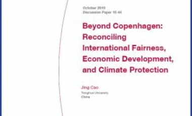 Beyond Copenhagen: Reconciling International Fairness, Economic Development, and Climate Protection