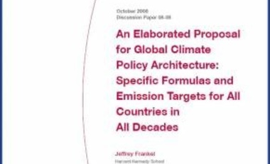An Elaborated Proposal for Global Climate Policy Architecture: Specific Formulas and Emission Targets for All Countries in All Decades