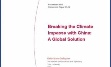 Breaking the Climate Impasse with China: A Global Solution