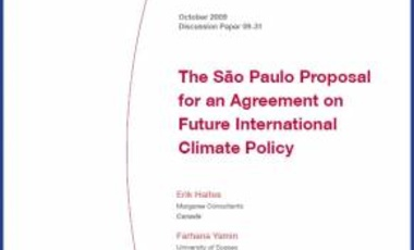 The São Paulo Proposal for an Agreement on Future International Climate Policy