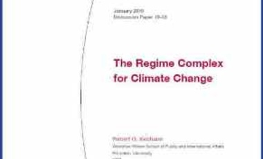 The Regime Complex for Climate Change