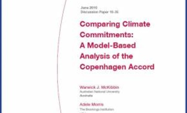 Comparing Climate Commitments: A Model-Based Analysis of the Copenhagen Accord